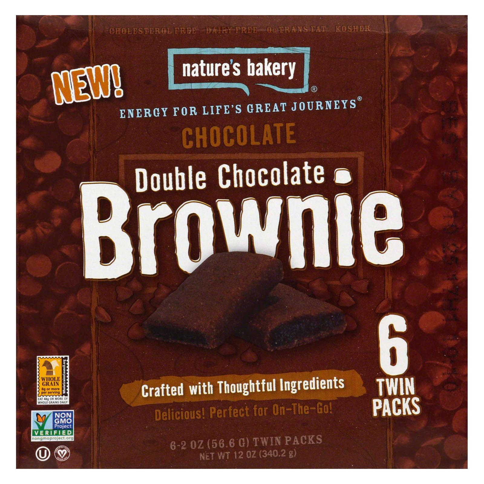 Nature's Bakery Chocolate Brownie - Double Chocolate: 36 bars
