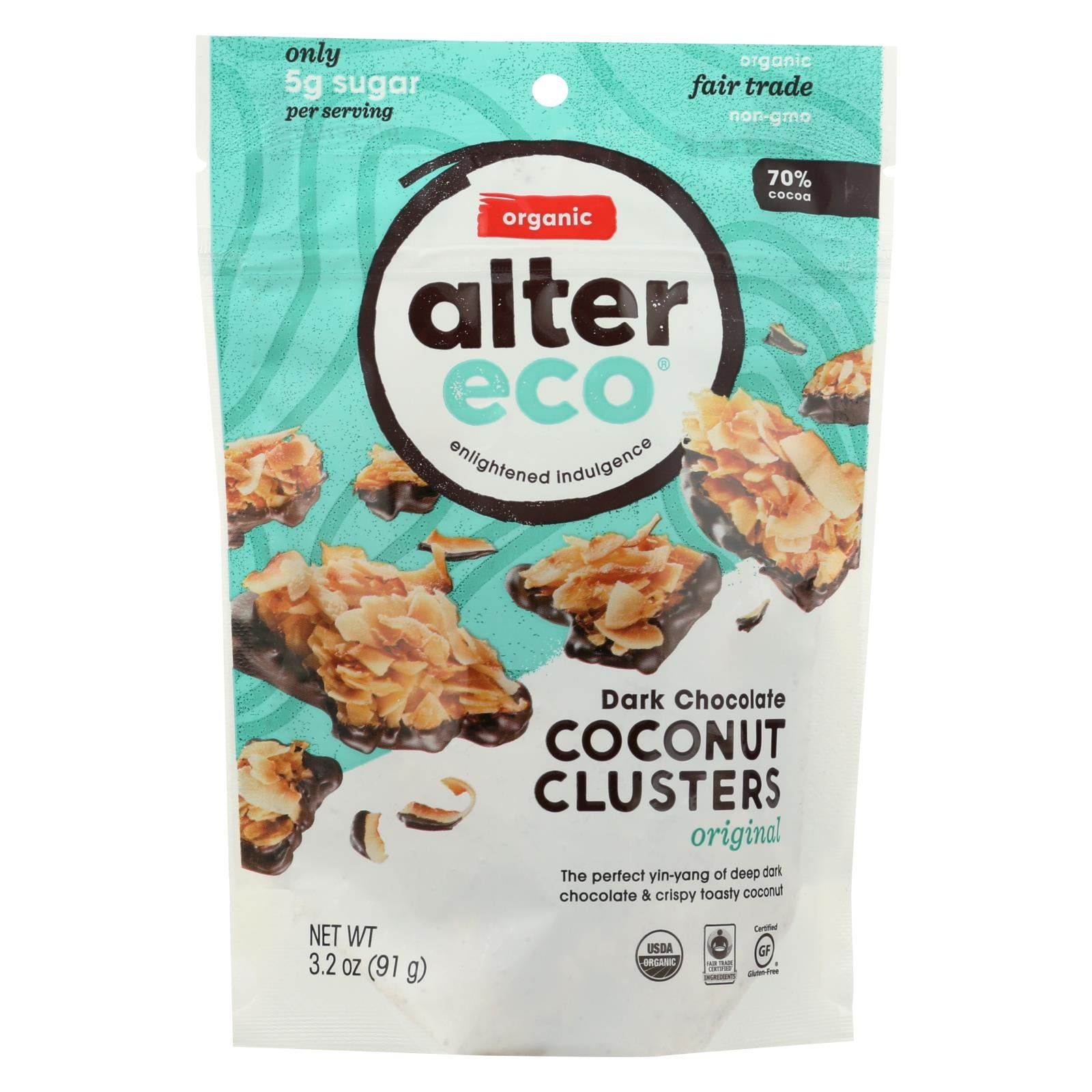 Alter Eco Original Coconut Clusters