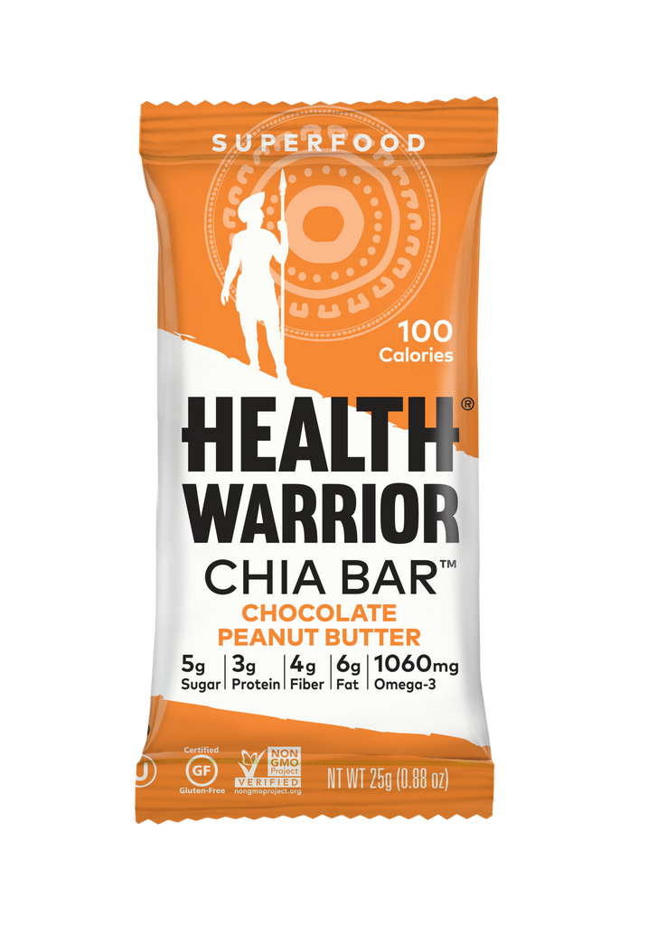 Health Warrior Chia Bar - Chocolate Peanut Butter