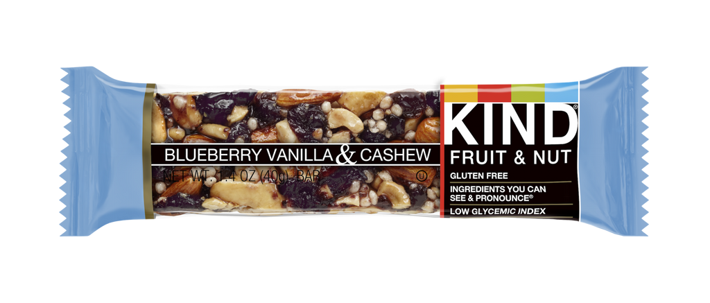 Kind Bar - Blueberry Vanilla and Cashew