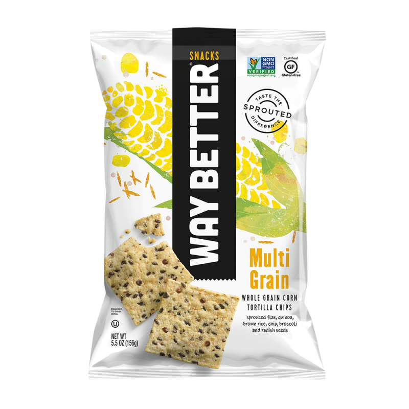 Way Better Snacks - Multigrain Tortilla Chips Snack Pack