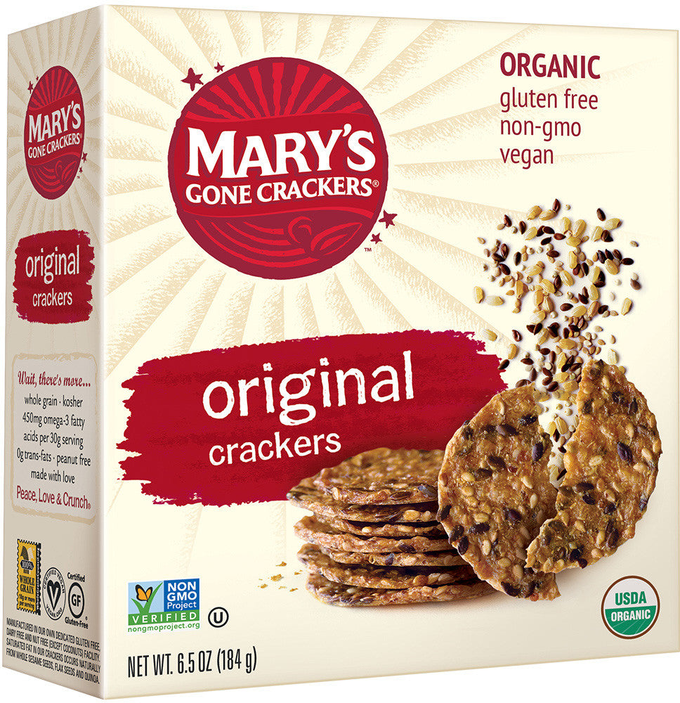 Mary's Gone Crackers Organic Original Crackers (Gluten Free)