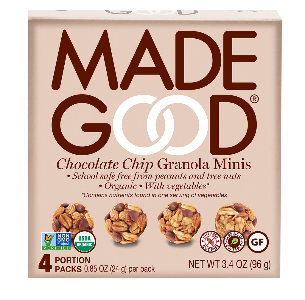 Made Good Chocolate Chip Granola Minis