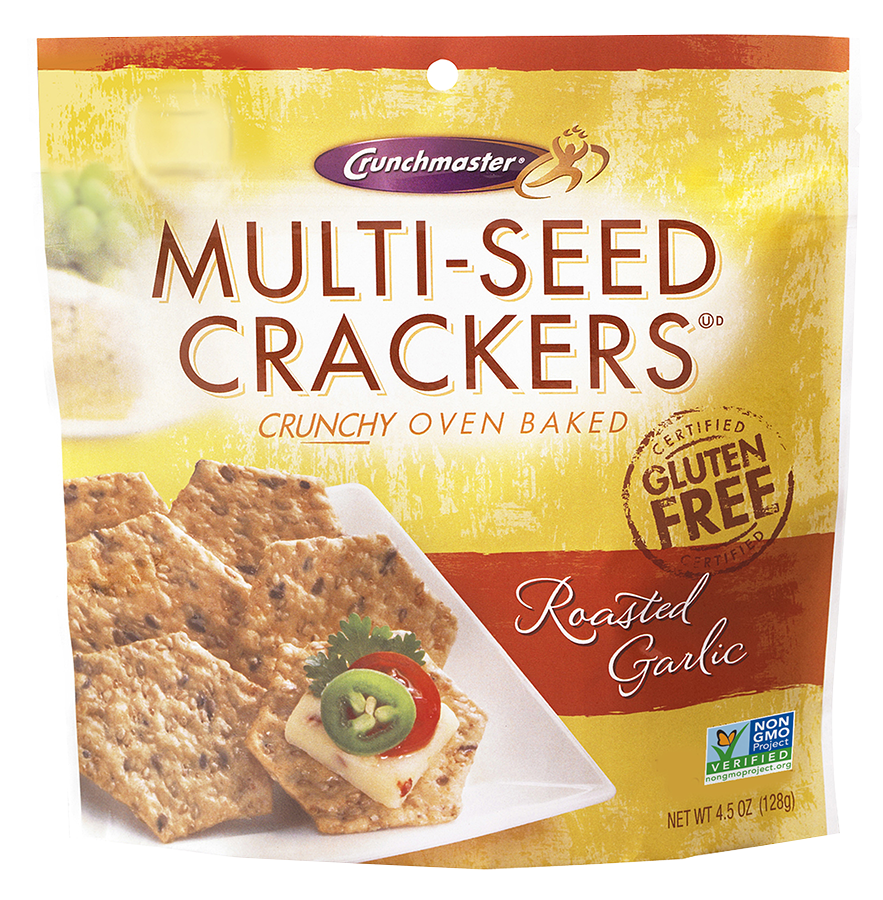 Crunchmaster Multiseed Cracker - Roasted Garlic