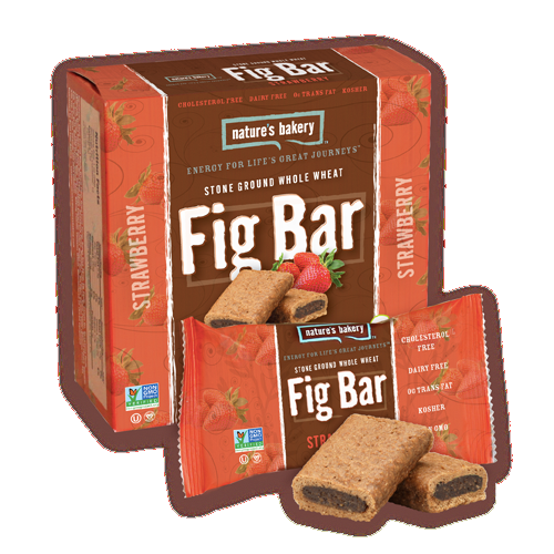 Nature's Bakery Stone Ground Whole Wheat Fig Bar - Strawberry: 36 bars