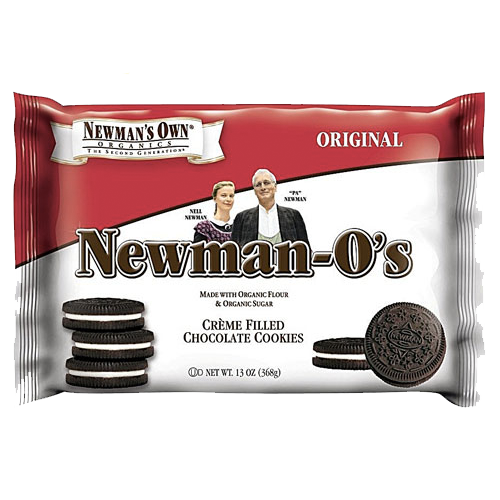 Newman's Own Organics Creme Filled Chocolate Cookies