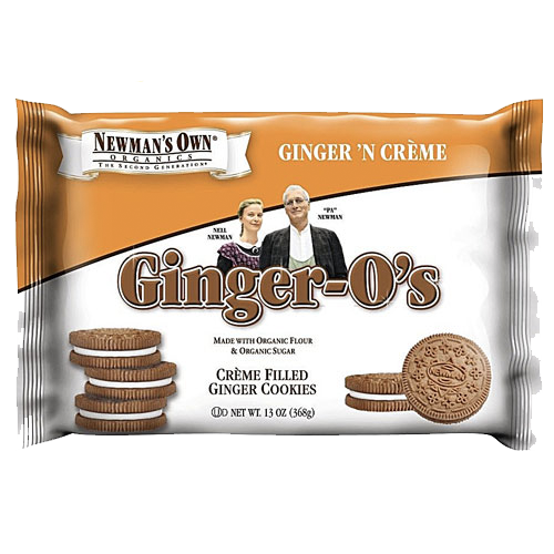 Newman's Own Organics Ginger O's: 13 oz boxes