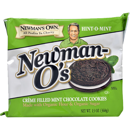 Newman's Own Organics Mint Creme O's: 13 oz boxes