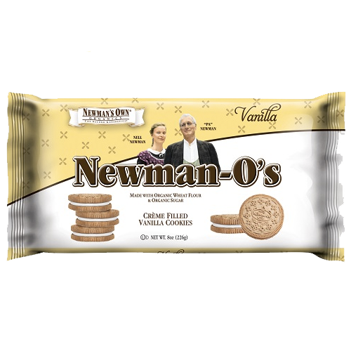 Newman's Own Organics Vanilla Cream O's: 8 oz Boxes