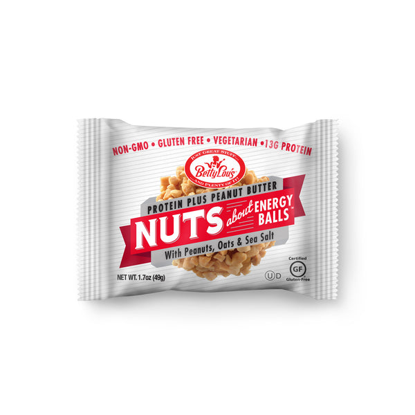 Betty Lou's Nut Butter Balls Protein Plus - Peanut Butter