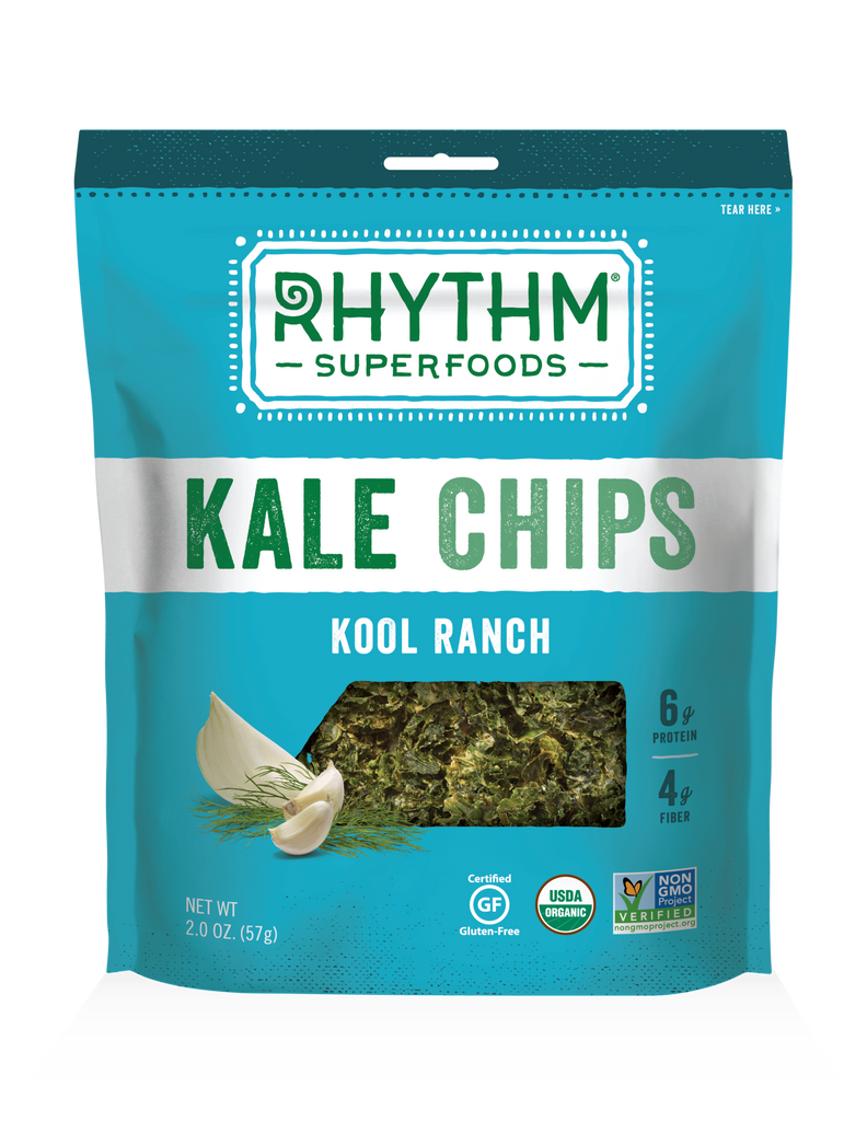 Rhythm Superfoods - Kool Ranch Kale Chips