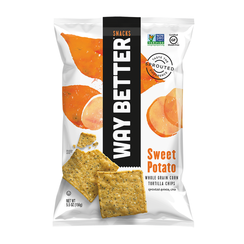 Way Better Snacks - Sweet Potato Tortilla Chips Snack Pack