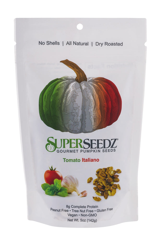 SuperSeedz Gourmet Pumpkin Seeds - Tomato Italiano