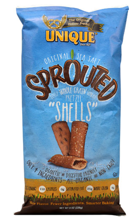 Unique Pretzels Sprouted Pretzel Puffs