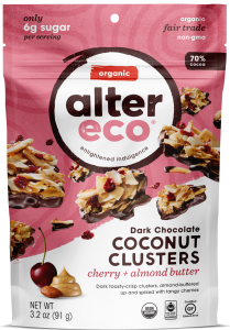 Alter Eco Cherry Almond Butter Coconut Clusters