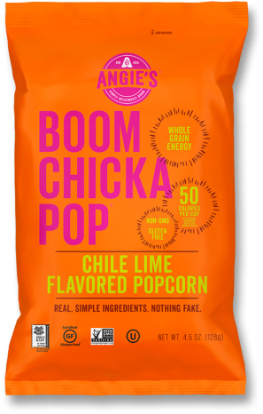 Angie's BOOMCHICKAPOP Chile Lime Flavored Popcorn