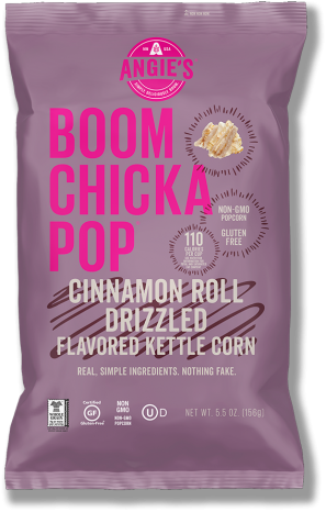 Angie's BOOMCHICKAPOP Cinnamon Roll Drizzled Kettlecorn
