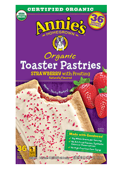 Annie's Homegrown Organic Strawberry Toaster Pastries