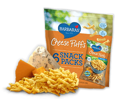 Barbara's Bakery - Original Baked Cheese Puffs (Snack Pack)