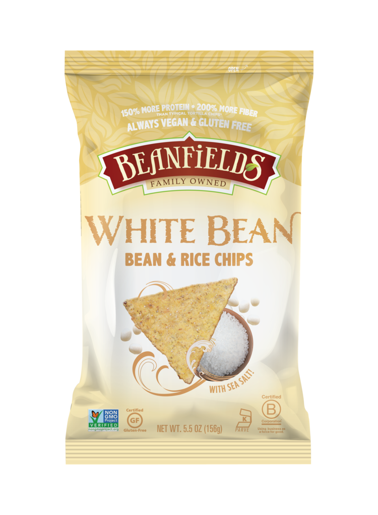 Beanfields White Bean Chips Sea Salt