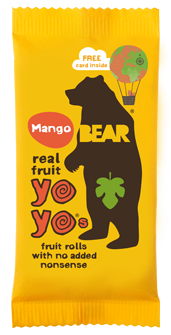 Bear Real Fruit YoYos - Mango