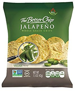 The Better Chip - Jalapeno Whole Grain Chips