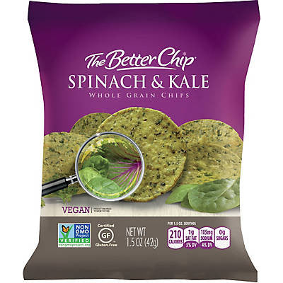 The Better Chip - Spinach & Kale Whole Grain Chips
