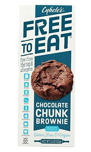 Cybele's Free to Eat Cookies - Chocolate Chunk Brownie