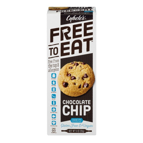 Cybele's Free to Eat Cookies - Chocolate Chip