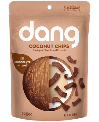 Dang Salted Cacao Coconut Chips - Snack Pack