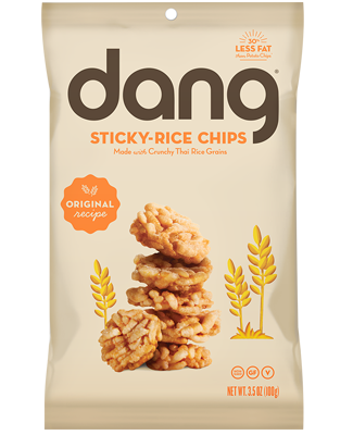 Dang Original Sticky Rice Chips - Snack Pack (24 count)