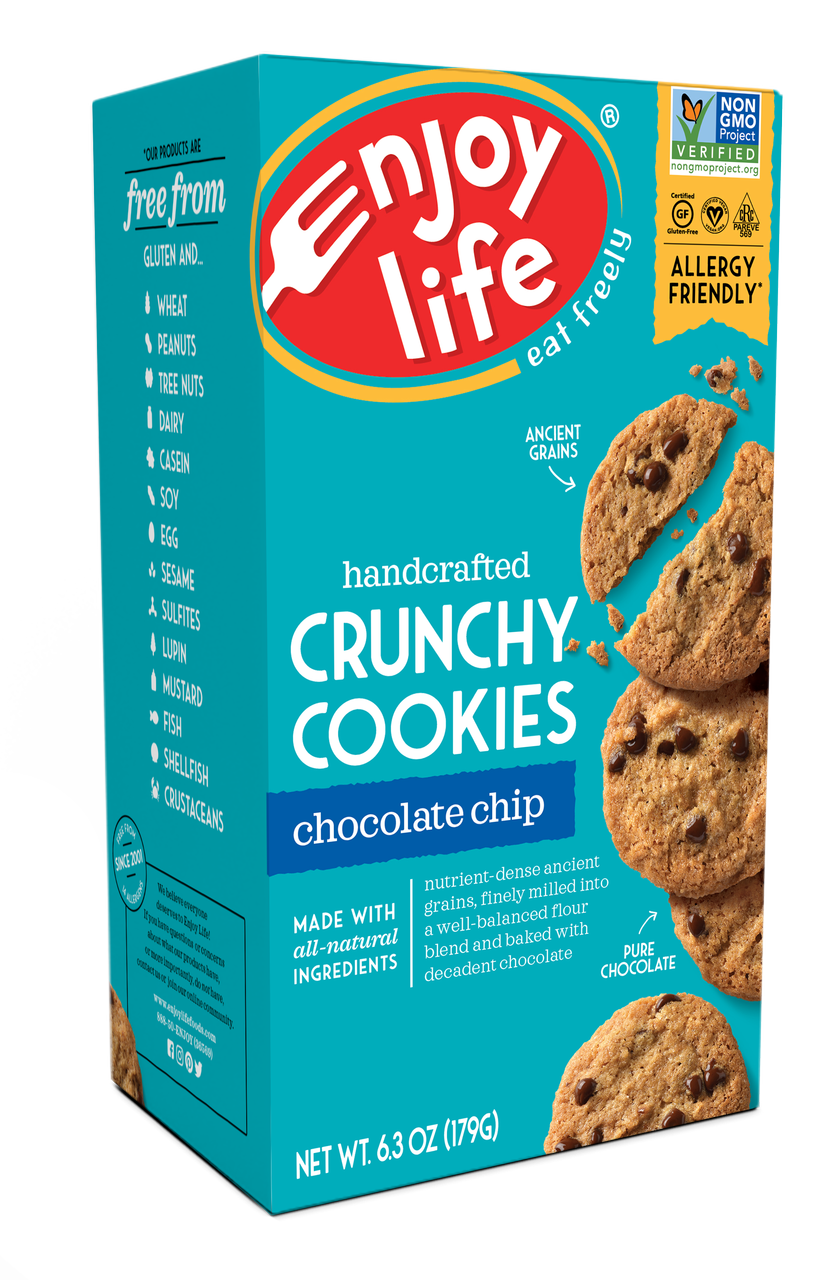 Enjoy Life Chocolate Chip Crunchy Cookie