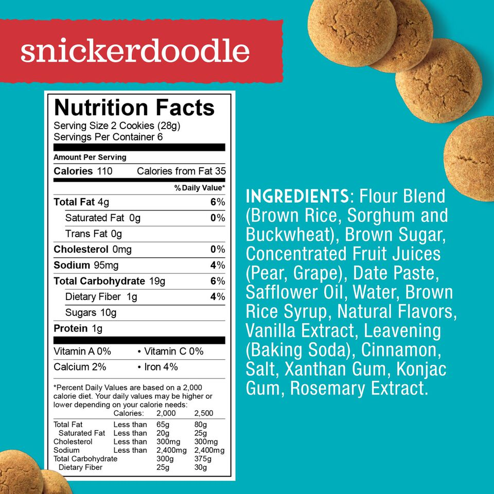 Enjoy Life Snickerdoodle Soft Baked Cookie