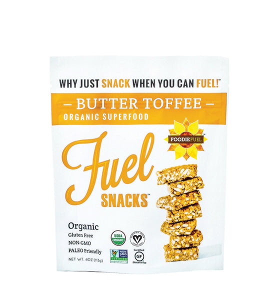 Butter Toffee Fuel Snacks