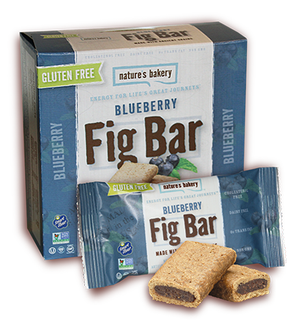 Nature's Bakery Ancient Grains Fig Bar - Blueberry (Gluten Free): 12 bars