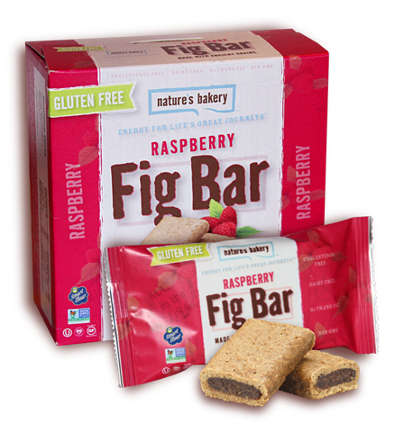 Nature's Bakery Ancient Grains Fig Bar - Raspberry (Gluten Free): 12 bars