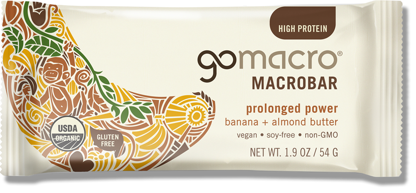 GOMACRO - Prolonged Power (Banana & Almond Butter)