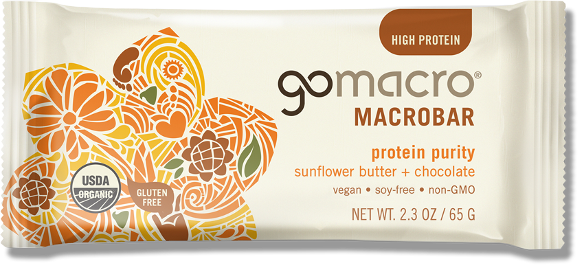 GOMACRO - Protein Purity (Sunflower Seed Butter & Chocolate)