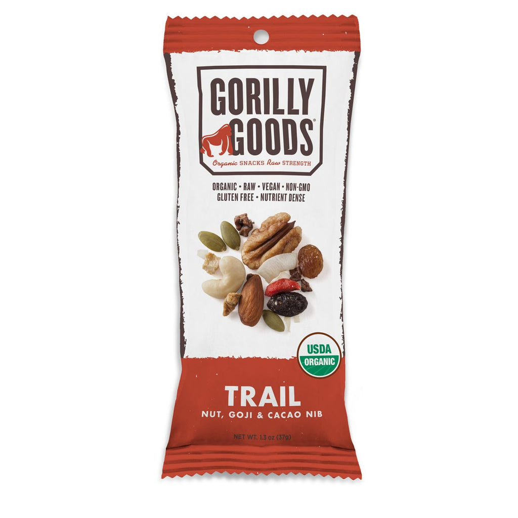 Gorilly Goods - Trail Nut, Goji & Cacao
