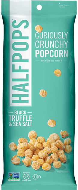 Halfpops - Black Truffle & Sea Salt