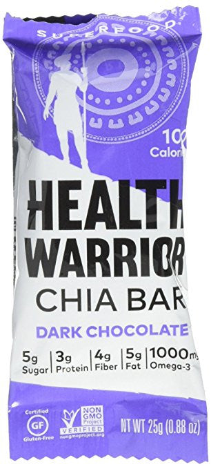 Health Warrior Chia Bar - Dark Chocolate