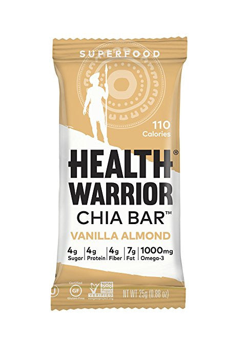 Health Warrior Chia Bar - Vanilla Almond