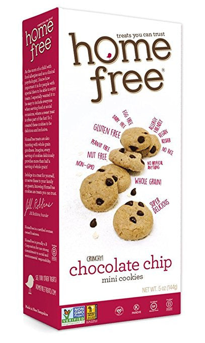 Homefree Mini Chocolate Chip Cookies