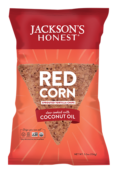 Jackson's Honest Red Corn Tortilla Chips