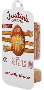 Justin's Maple Almond Butter with Pretzels