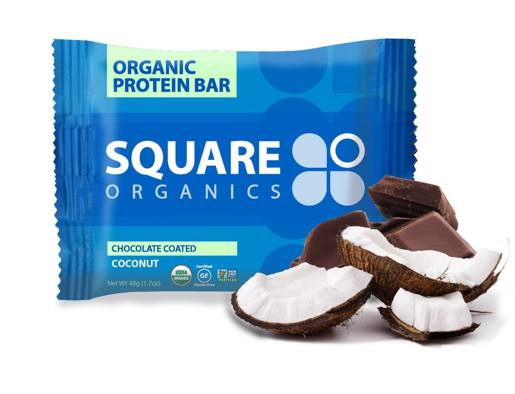 Square Organics Chocolate Coated Coconut