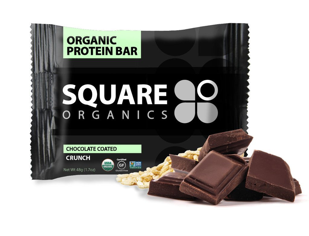 Square Organics Chocolate Coated Crunch