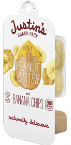 Justin's Honey Peanut Butter with Banana Chips
