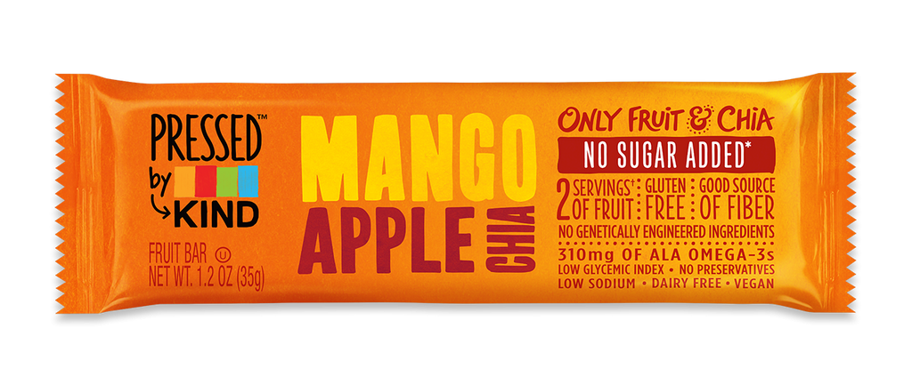 KIND Pressed Bars - Mango Apple Chia
