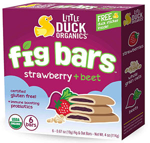 Little Duck Organics - Strawberry Beet Fig Bars